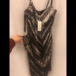 NWT! Bebe sequin Dress